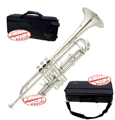 Bartok Intermediate Bb Trumpet Silver ROS1145S