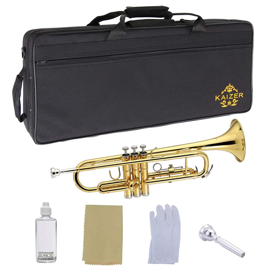 KAZIER-TRP-1000PL - Intermediate Trumpet for Younger Players