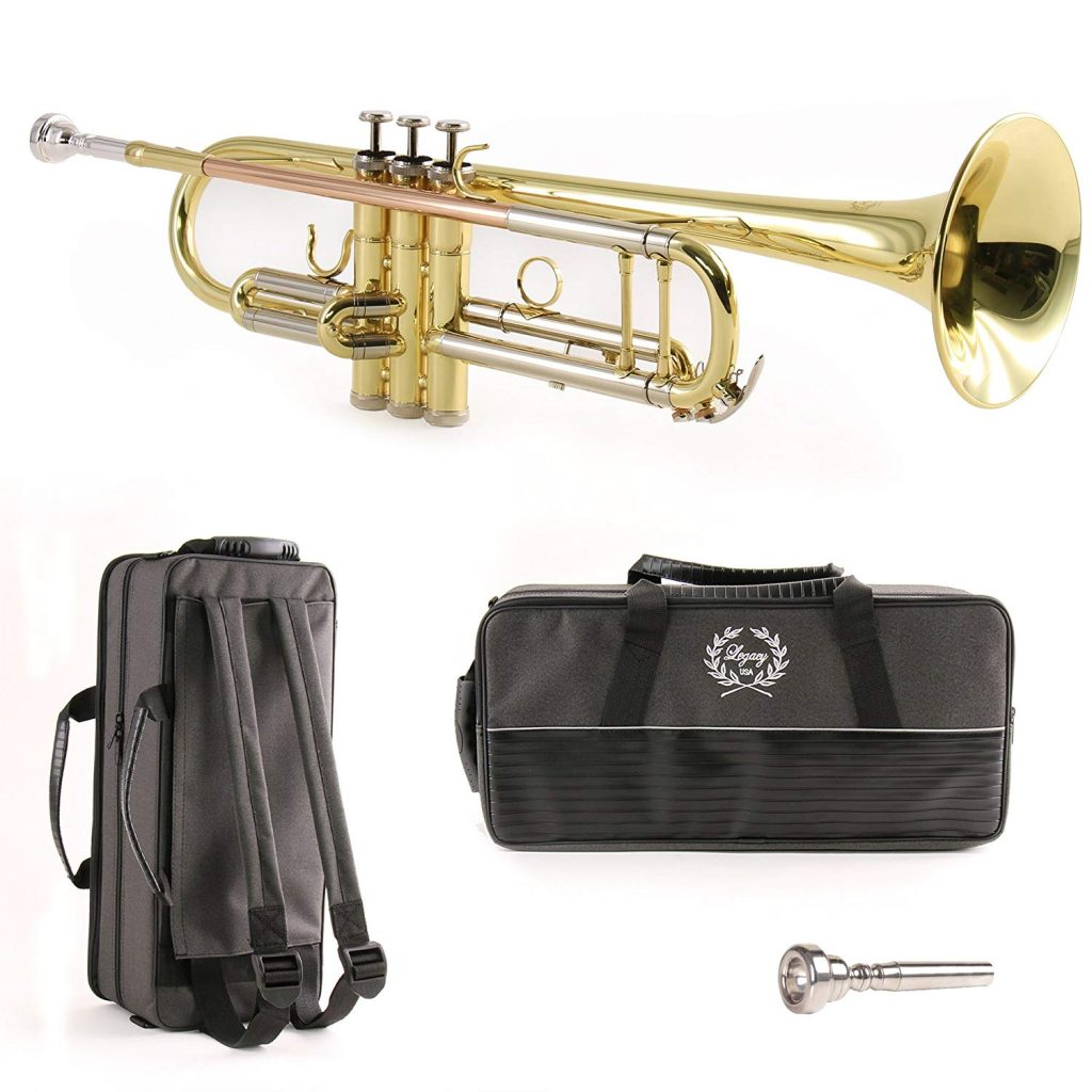 Legacy Silver Plate TR750S- Intermediate Trumpet