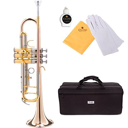 Mendini MTT-40 Intermediate Bb Double Braced trumpet