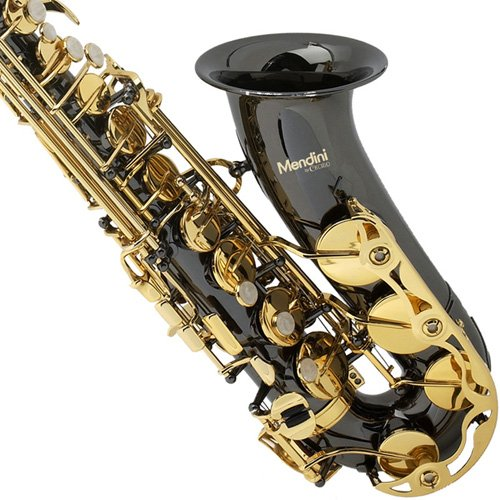 Mendini-by-Cecilio-Eb-Alto-SaxTuner-Case-Mouthpiece-10-Reeds-Pocketbook-and-1-Year-Warranty-black-gold