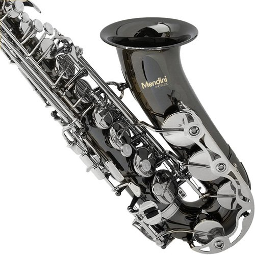 Mendini-by-Cecilio-Eb-Alto-SaxTuner-Case-Mouthpiece-10-Reeds-Pocketbook-and-1-Year-Warranty-nickel