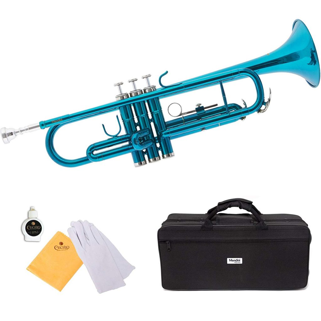 Mendini by Cecilio Standard Bb Trumpet - Cheap for Beginners