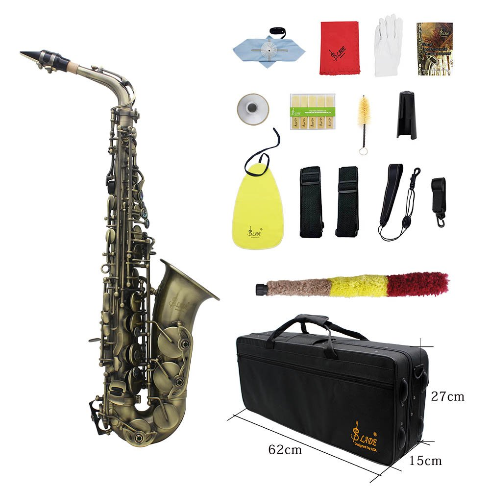Ammoon Bend E flat Alto Saxophone  affordable cheap for beginners